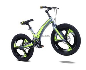 2020 New Children's Bicycle Magnesium Alloy 20-inch Mountain Student Vehicle Disk Brake Single-speed Child Bicycle Bicycle