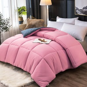 Twin Full Queen King Size Very Warm Winter Quilt All Seasons Comforter Duvet High Grade Blanket Filler With 100%cotton Cover CF