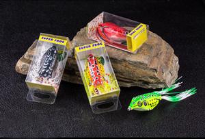 Superiore morbida esche esca esca pesca Tackle 5,5 centimetri / 13g rana esche in gomma morbida della rana Bait Fishing Lure Tackle