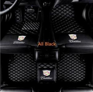 Für Cadillac SRX 2004-2016 luxuriöse benutzerdefinierte wasserdichte Fußmatten aus PU-Leder All-Weather Waterproof