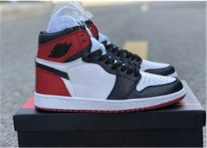 2019 new 1 retro Fearless UNC Chicago Retro High OG men women kids basketball shoes 1s Fearless Patent White Red Blue Black sports sneakers