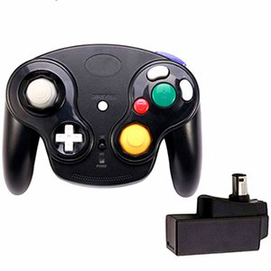 Venda quente 2.4Ghz sem fio Game Controller Gamepad Para Gamecube NGC Wii (Mudar Wii U com adaptador) 6 cores com caixa colorida