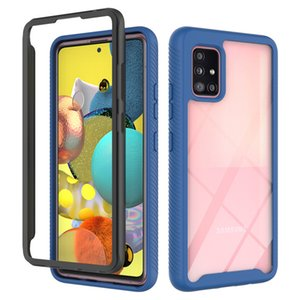 For Samsung A70E Case Crystal Hybrid Bumper Clear TPU PC Acrylic Back Cover for A70 Case Phone Cases For A50 Protective