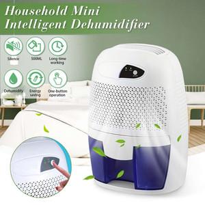 Secador de resfriamento Mini desumidificador de ar Secador de umidade Absorber elétrica Air com 500ML tanque de água para Home Quarto Escritório Cozinha