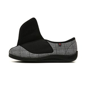 Lesvago Diabetes Edema shoes Extra Wide width Slippers Adjustable Orthopaedic Fasciitis Easy On Off Closure Shoes swollen feet