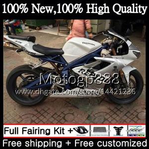 Triumph Daytona 675 09 10 11 12 Karoseri 8PG8 İçin Beyaz