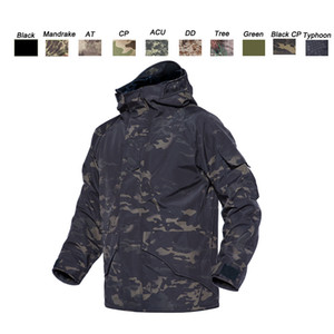 Outdoor Sports Hunting Shooting Tactical Camo Coat Combat Clothing Camouflage Windbreaker G8 Winter Outdoor Jacket P05-212