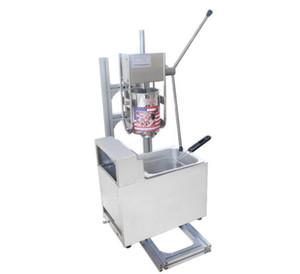 macchina libero creatore di navigazione commerciale 3L Churros con 6L Gas Litri Friggitrice (6L friggitrice a gas)