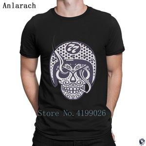 Ünlü tasarımcı Yaz Stili erkek tshirt Popüler üst tee% 100 pamuk Anlarach Leisure streetwear Kafatası tshirt