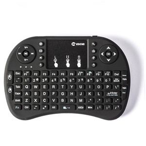 New Mini Rii i8 Wireless Keyboard 2.4G English Air Mouse Keyboard Remote Control Touchpad for Smart Android TV Box Notebook Tablet Pc