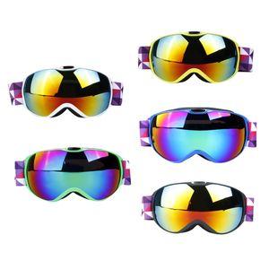 Ciclismo Occhiali Occhiali con Anti-Fog protezione UV doppia lente per i bambini unisex ciclismo motoslitta Sci pattinaggio