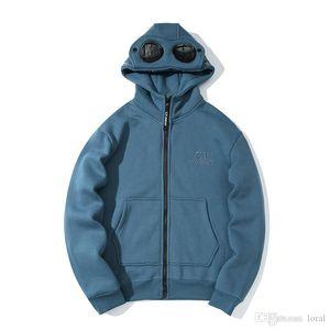 Diseñador para mujer para hombre Escudo 19SS CP Company Hoodies de la manera Tops Chaqueta de invierno de la manga de las mujeres masculinas tamaño asiático M-2XL