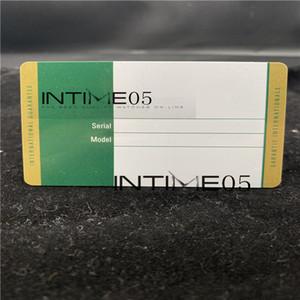 الضمان الأمن البطاقة الخضراء مخصص طباعة نموذج الرقم التسلسلي على بطاقة الضمان ووتش لساعات رولكس الكلمات