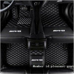 For All models Mercedes G - Class 2010~2018 Floor Mats Non toxic and Waterproof Non-slip Carpets floor mat Non toxic and inodorous