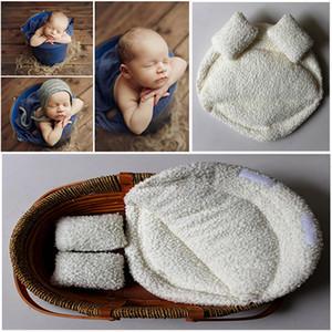 2019 New Newborn Photography Props Baby Posing Pillow Newborn Basket Props Baby Photography Studio Infantile Servizio fotografico Accessori SH190910