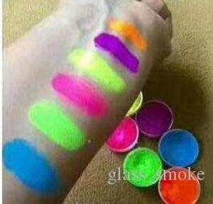 Fard à paupières Fond de teint poudre 6colors Neon Ombre à Paupières Set Beauté yeux Cosmétiques New Hot poudre yeux 6pcs de maquillage de Kit Nail Art DIY poudre DHL