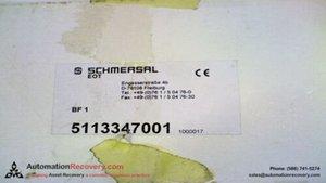 SCHMERSAL 5113347001, NUOVO # 102.074
