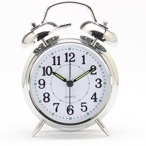شحن مجاني شروق الشمس ساعة منبه لديكور المنزل الجدول 2018 حار بيع الساعات المنبه الرقمية جرس مزدوج الساعات الصغيرة المزخرفة