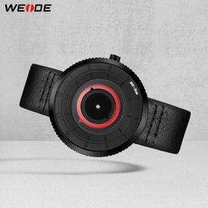 WEIDE Movimento Quartz Waterproof Mens Leather Luxury Strap Data Relógio Relógio Masculino Women Watch comprar um obter um dom gratuito