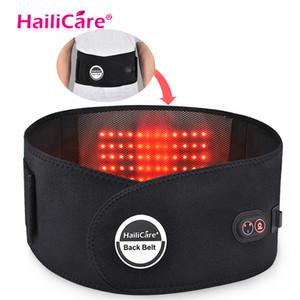Fernen Infrarot Massage Gürtel Abnehmen Gürtel Elektrische Heizung Moxibustion Taille Stützgürtel Hot Compress Lade Taille platte Warm