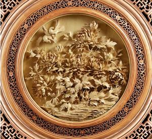 Современные 3D Фото обоиHD 3D резьба по дереву резной пол зенит Обои для дома Декор интерьера гостиной Потолок Лобби Росписи обоев