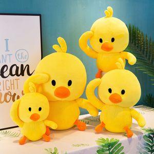 Petit canard jaune en peluche Jouets 20CM stufffed animaux canard décoration mignon doux animaux Réseau populaires jouets en peluche gros