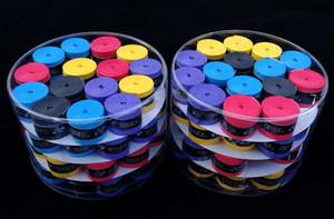 Badminton Mão Cola De Raquete De Tênis De Raquete Abrasivo Mão Cola Badminton Tipo Fino Sobre O Aperto