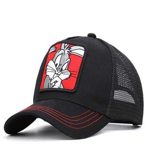 Fashion- Anime Baseball Net Cap Summer Outdoor Baseball Cap Travel Street Shade Cool Hat Embroidery Print Cap