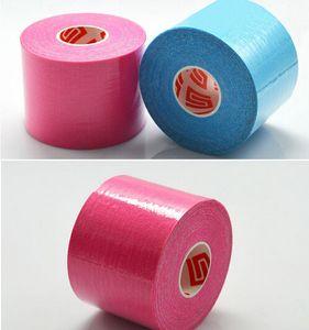 Hot Gesundheit Schönheit 5cm x 5m NEW Kinesiologie Kinesio Rolle Cotton Elastic Adhesive Kraftsport Tapeverband Physio Strain Injury Unterstützung