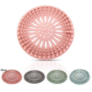 Silicone Sink Filter Bathroom Kitchen Sewer Drain Strainers Anti-clogging Shower Drain Covers Kitchen Bathroom Accessories HHA1308