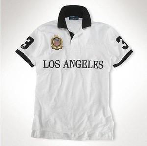 Menswear Marca Polo Casual manica corta manica corta H Camicie Uomo