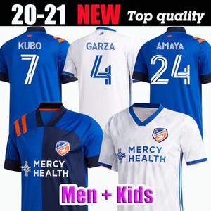 2020-2021 FC سينسيناتي 2 WASTON 4 GARZA 6 BERTONE 9 ADI 15 A.CRUZ جيرسي لكرة القدم 20 21 التايلاندية نوعية كرة القدم البلوزات قميص اسقاط مقبول