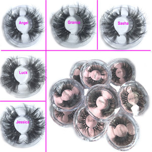 2020 Newest 25MM 3D Mink Eyelashes False Eyelashes 100% Mink Eyelash Extension 5d Mink Lashes Thick Long Dramatic Eye Lashes DHL FREE