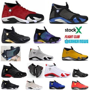 2020 Ters Jumpman 14s Erkek Basketbol Ayakkabı GYM Kırmızı Spor Eğitmeni Ferrar Son Shot Siyah Burun Erkekler Basket Ball Sneakers ile Kutusu