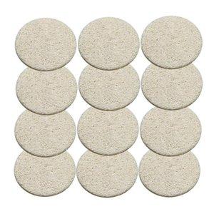 Natural Loofah Facial Pads Loofah Disc Makeup Remove Exfoliating Face Loofah Pad Small Size