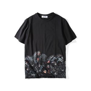 Hombres estilista camiseta Ropa para Hombres 3D orangutanes camiseta del verano Hip Hop Tamaño Hombres Mujeres manga corta S-XXL