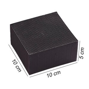 Activated Carbon Water Filter Eco-Aquarium Water Purifier Cube Honeycomb Ultra Strong Filtration & Absorption Filter