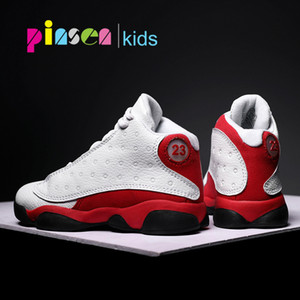 PINSEN 2019 New Kids Basketball Shoes boys Sneakers Non-slip Casual Children Shoes For Boy Girls Sneakers Breathable Sport Shoes Y200103