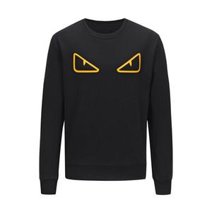 Mens Roma дизайнер Толстовка Толстовка печататься глаз Мужчины Женщины свитер толстовка с длинным рукавом пуловер Марка толстовки хип-хоп Франция Sweatershirt