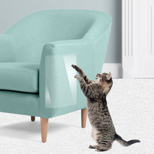 A prueba de arañazos para el hogar 2 piezas Cat Scratching claw Protector Guard Mat Mat Post Cojines para muebles Cat Anti Scratch Furniture Protector para el hogar