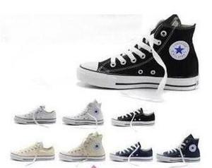 KW5 EUR35-45 New Conver star chaussures de toile des femmes et des hommes, hauts bas Style Classique Chaussures de toile Chaussures de sport en toile chaussures