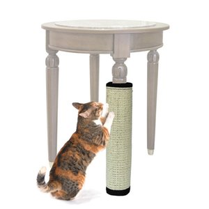 Gato de sisal natural que rasguña la estera del poste Muebles de protección plegables Tablero del rasguño del gato Muebles de juguete Protector del gato Pinza de juguete
