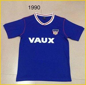 1990 Sunderland retro camisa de futebol Início distância 90 91 Sunderland Michael Gray Eric Portões camisas de futebol do vintage clássico topo Tailândia