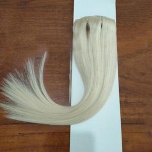 2020 Hotsale 100% Human Hair Color 613 Silky Straight Hair Weft Blonde Bundles 4pcs Lot Peruvian Virgin Hair Extensions