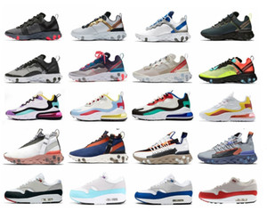 2020 Reagir WR MID ISPA Running Shoes Elemento 87 Anniversary premium 1 Sneakers Atlético Corredor 55 Sports Trainers Velvet Brown Obsidian do Aqua