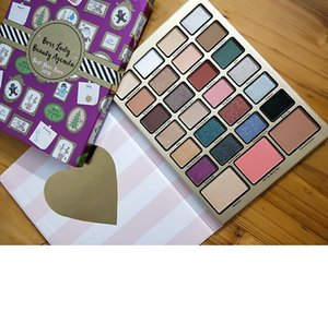 Newest! Boss Lady Beauty Agenda Eyeshadow don't let today be a waste of makeup Waterproof Matte 27 color Eye Shadow Palette