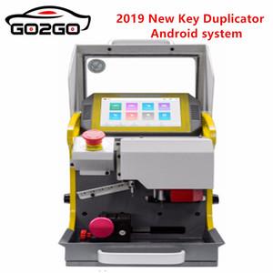SEC-E9 automático de la llave del coche que hace la máquina láser Máquina cortadora de llaves Venta 2019 Nueva Duplicador