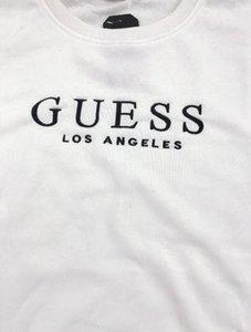 hommes de designers Lettre d'impression Sweat-shirt femmes / hommes manches longues outerwears capuche pull avec capuche pour a2 GUESS Designe J9CZGTFP