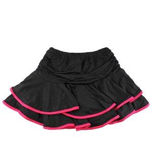 7 Colors Girls Latin Dance Skirt Double-layer Salsa Tango Samba Chacha Ballet Skirt for Girl Party Ballroom Dancewear Ball Gown