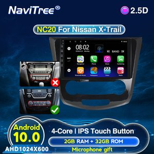 Android 10 2DIN Para X-Trail X Trail 3 T32 Qashqai 1 J10 Radio 2013-2017 Car Navigation Multimedia Video Player GPS SWC BT dvd carro